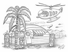 Missing (rod1691) Tags: myart art sketchbook bw scfi grey concept custom car retro space hotrod drawing pencil h2 hb original story fantasy funny tale automotive illustration greyscale moonpies sketch sexy voodoo