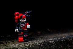 M34A1832 (scilly puffin) Tags: harleyquinn legography minifigure