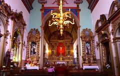 Blick in die Mutterkirche in Santana /Madeira (sabine1955) Tags: kirche church altar madeira barock baroque