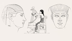 Egyptian female from An illustration of the Egyptian, Grecian and Roman costumes by Thomas Baxter (1782-1821).Digitally enhanced by rawpixel. (Free Public Domain Illustrations by rawpixel) Tags: illustration publicdomain egyptian otherkeywords anillustrationoftheegyptian antique baxter cc0 drawing egyptianfemale empire female grecianandromancostumes historical history mythology old sketch thomasbaxter vintage worship