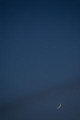 Moon and Venus, Indianapolis, Indiana (Roger Gerbig) Tags: moon venus planet satellite rogergerbig