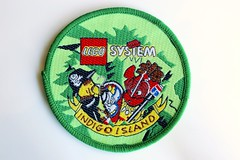 Islanders woven patch (BF Bricks) Tags: lego ephemera collectible patch sew embroidered 80s 90s