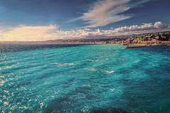 Deep-blue (harakis picture) Tags: nice frenchriviera paca france sea mediterrané