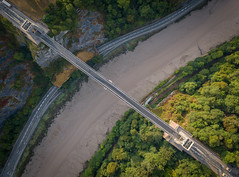 Clifton Suspension bridge (andrewmclean32) Tags: clifton suspensionbridge bridge bristol drone djimavicpro dji aerial aerialphotography avongorge cityscape city landmark brunel history architecture summer morning
