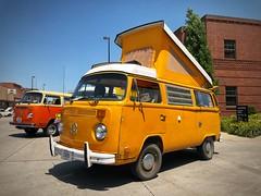 Omaha Volkswagen Club Show & Shine 2018 - Bay Window Westfalia (vwcampin) Tags: orange iphoneography iphoneographer iphonology iphoneology omaha nebraska louisville showshine shownshine showandshine omahavolkswagenclub omahavwclub ovwc baywindow iconic poptop camper van bus westfalia westy volkswagon volkswagen vwbus vw