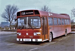 Trent 508, A Leyland National. (ManOfYorkshire) Tags: 508 trent ach508t leyland national bus company nbc poppyred route 154 wirksworth belper derby history nostalgia oldphotograph colour