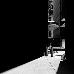 Vape Time (Sean Batten) Tags: london england uk europe canarywharf docklands streetphotography street blackandwhite bw nikon d800 city urban light shadow