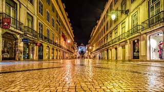 Lisbon / Lisboa; Rua Augusta