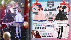 -Nomi-Star Magical Girls @ The Crystal Heart (糯米-Nomi-) Tags: star magical nomi sailor moon crystal heart twins
