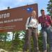 Refuge Manager Sara Siekierski and Regional Director Tom Melius at Huron National Wildlife Refuge