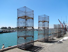 Pier 45, Fisherman's Wharf, San Francisco, California (Robert C. Abraham) Tags: pier water saltwater fish fishing boat boats fishingboats cali california fishermanswharf sanfrancisco crab crabfishing