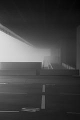 CITEXVI (sairacaz) Tags: fog niebla vigo galicia universidad perspectiva perspective blanco blancoynegro blackwhite luz light canon canonef2470mmf4lisusm