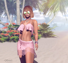 dolce vita (babibellic) Tags: secondlife sl navyandcooper mooh blogger beauty babigiobellic bento babibellic avatar portrait people virtual beach glasses glamaffair