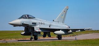 German Luftwaffe Typhoon Eurofighter