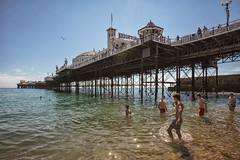 Brighton boy's in colour (stocks photography.) Tags: michaelmarsh brighton photographer seaside coast photography pier brightonboys coastalphotography summer time sea coastal canon5dsr