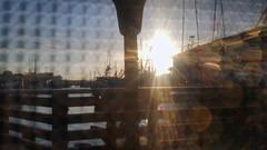 Sunset Through A Window Shade (Richard Melton) Tags: san francisco california