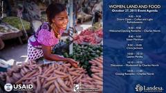 USAID_WLF_2015-11.jpg (USAID/Land) Tags: farmersmarket usaidflickr fintracinc susanmarkham landrights landmatters woman internationalwomensday pinkdress 2015 quote veggies vegetables wlf