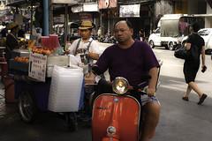 People of Bangkok (Piotr Rataj) Tags: bangkok bkk chinatown china asia asian food saler streeet streetfood people thai thailand 1740 canon 40d vespa
