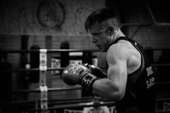 35245 - Guard (Diego Rosato) Tags: boxe pugilato boxelatina boxing ring match incontro nikon d700 2470mm tamron bianconero blackwhite face off guardia guard