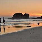 Beach sunset. thumbnail