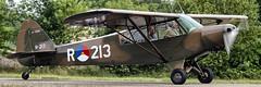 PH-RED (Mark A.H.) Tags: phred piper pa18125 super cub r213 5115682 l21a breda international airport 16june2018