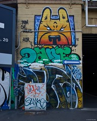 IMGP5490 Angry dog (Claudio e Lucia Images around the world) Tags: via rodano lambrate milano murale murales graffito graffiti street streetart muro wall ferrovia railway pentax pentaxk3ii sigma sigma1020 pentaxart sigmaart city urban dog angrydog