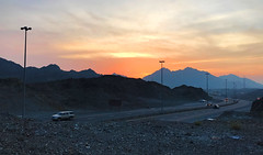 Sunset in the mountains (Irina.yaNeya) Tags: uae emirates sunset mountains sky sun light clouds mountain road cars landscape iphone eau puestadelsol montañas cielo sol luz nubes carretera coches paisaje nature naturaleza الامارات غروب جبل سماء الشمس سحاب طريق طبيعة оаэ эмираты закат горы небо солнце свет облака дорога машины пейзаж природа