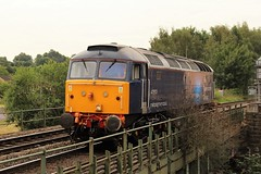 ROG 47813 - Chesterfield (the mother '66' 66001) Tags: railoperationsgroup rog rail railways derbyshire class47 47813 chesterfield doncaster leicester