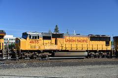 2018-06-10_17-05-19 (Hyperflange Industries) Tags: up 4655 sd70m nikon d7500 nikkor afs dx 1685mm f3556g vr nef raw capturenxd capturenx2 capturenx photoshopcs5 union pacific locomotive engine roseville california davisyard railroad train rostershot