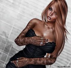 ︱LOTD .202.︱ (♕ Vanessa ♕) Tags: tattoo shinnyshabby event carolg catwa legs selfie portrait sweet sensual pillow beauty avatar second life photo photography blog blogger erotic decoration woman girls relax shiny shabby