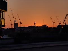 IMG_20180522_203843 (mattbuck4950) Tags: england unitedkingdom europe sunset photosbymatt may sky london cranes cameramotorolanexus6 thamespath londonboroughofsouthwark postofficetower 2018 blackfriarsroadlondon gbr