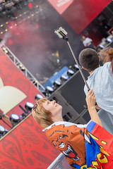 Recording at fan fest Moscow with a selfie stick (marcoverch) Tags: russia weltmeisterschaft reiseblogger fussball wm moskau fifa digitalnomad travel sport reisen football wm2018 russland stpetersburg moskva ru recording fan fest moscow selfie stick people menschen festival music musik competition wettbewerb performance man mann adult erwachsene concert konzert woman frau wear tragen musician musiker sportsfan sportfan celebration feier group gruppe singer sänger band soccer fusball club verein vehicle fahrzeug portrait porträt flying spider plane macromondays ciel countryside flickr wings fujifilm noiretblanc