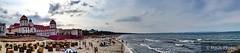 Blick von der Seebrücke Binz (Matt Uso) Tags: kurhaus panorama meer strand rügen binz seebrücke