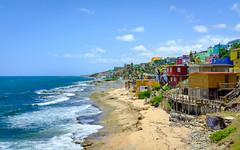 La Perla (ep_jhu) Tags: oldsanjuan x100f viejosanjuan water puertorico pr fujifilm sea agua velvia colorful ocean shore beach waves laperla fuji architecture tropical sanjuan island osj caribbean