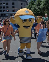 What A Great Idea (Scott 97006) Tags: parade people lightbulb costume energy light bulb cute