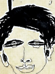 Doodle face (chartan) Tags: waterlogue sketji doodle ipad digital