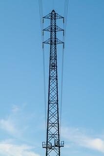 Slim transmission tower