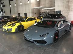 Huracan LP610-4 or Porsche 911 GT2 RS ... Your choice ?. (J.C. Photographe) Tags: france dijon 700bhp gt2rs 991 911 porsche v10 lp6104 huracan lamborghini