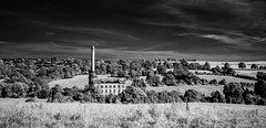 The Mill (sarahwilson-blackwell) Tags: lseries wideangle canon 6d oxfordshire mill blackandwhite monochrome infrared