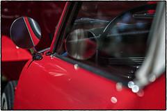 Car Art ! (drpeterrath) Tags: canon eos5dsr 5dsr car auto classic vintage reflection red automobile color outdoor dof bokeh depthoffield closeup mirror tire