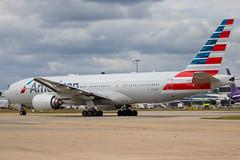 American Airlines - Boeing 777-223ER N773AN @ London Heathrow (Shaun Grist) Tags: n773an aa american americanairlines boeing 777 shaungrist lhr egll london londonheathrow heathrow airport aircraft aviation aeroplanes airline avgeek