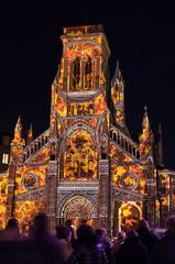 Sainte-Eugénie on fire (.:: JYM ::.) Tags: ifttt 500px nightphotography france night europe sainteugénie church biarritz anglet