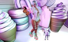 Ice Cream is Always a Good Idea! (BellaParx) Tags: backdropcity besom candykitten deetalez elleboutique epic gacha gameart jian laq lara maitreya mesh ninety secondlife secondlifephotography sl zenith zombiesuicide