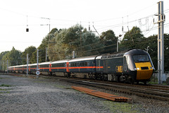43113 'The Highlands' + 43108 'The Old Course St. Andrews' (Cumberland Patriot) Tags: gner great north eastern railways inter city 125 ic intercity125 ic125 intercity hst high speed train br british rail brel paxman valenta engine power car class 43 43113 of newcastle the highlands 43108 highland chieftain old course standrews dieselelectric diesel motive traction unit wcml west coast main line caldew junction carlisle cumbria express passenger diversions diverted tyne valley railroad rails track tracks catenary wires