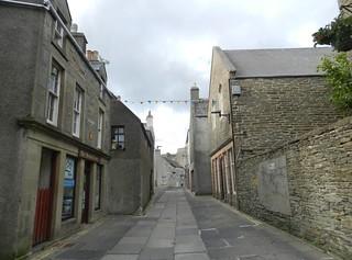 Narrow Streets, Kirkwall, Orkney Islands, June 2018