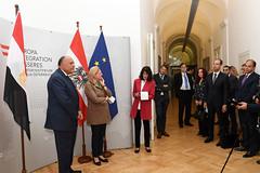 Außenministerin Karin Kneissl empfängt ihren ägyptischen Amtskollegen Same Shoukry
