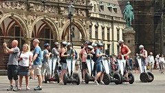 Segway tours (stephengg) Tags: free hanseatic city bremen freie hansestadt germany segway tourist tour group