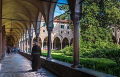 St Anthony of Padua's cloister (Cristiano Busato) Tags: padova stanthony padua cloister monastery basilica veneto italy art