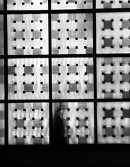 Misterioso (frankdorgathen) Tags: smartphone iphone iphone8plus monochrome blackandwhite schwarzweiss schwarzweis minimalistic minimalism fenster kirche church window people menschen person schatten shadow