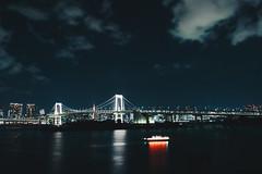 _MG_6799 (waychen_c) Tags: japan tokyo minatoku odaiba rainbowbridge night nightview nightscape cityscape skyline bridge boat yakatabune 日本 東京 港区 台場 お台場 御台場 レインボーブリッジ やかたぶね 2017東京旅行